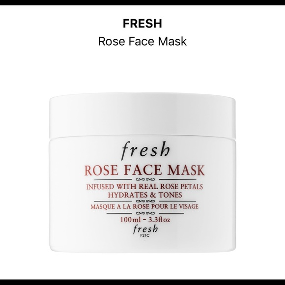 fresh Other - Rose face mask